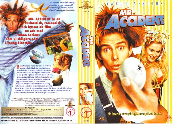 MR ACCIDENT (vhs)