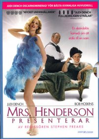 Mrs. Henderson presenterar (dvd) beg
