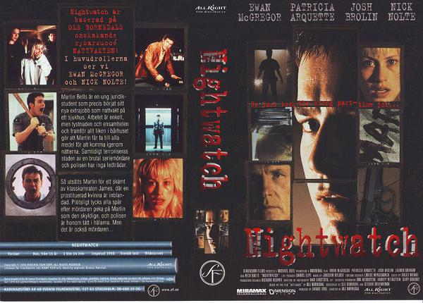 NIGHTWATCH - 1998 (VHS)