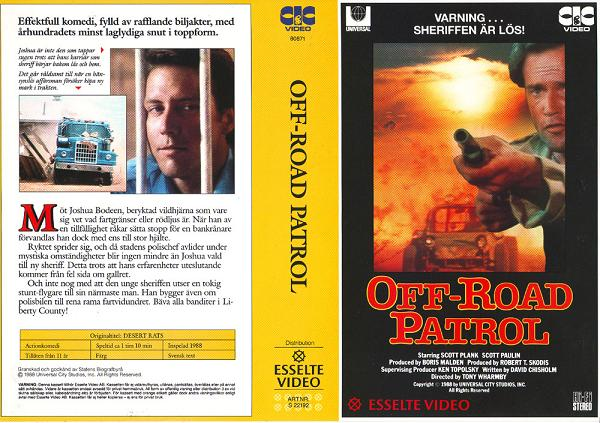 22192 OFF-ROAD PATROL (VHS)