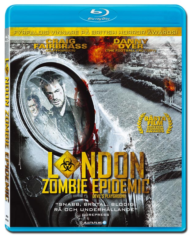 London Zombie Epidemic (beg blu-ray)