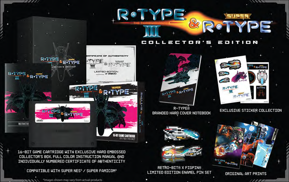 R-Type Returns Limited Collectors Edition (Retro-bit) [SNES]