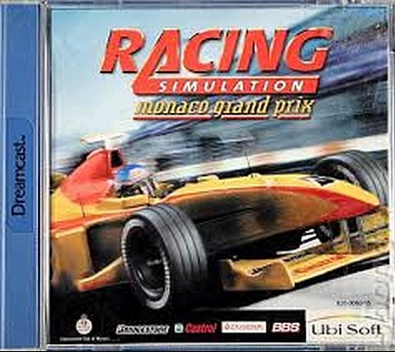 RACING SIMULATOR MONACO GRAND PRIX (DREAMCAST)