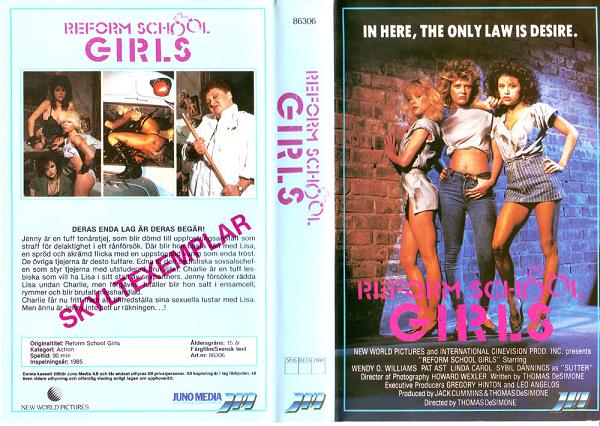 86306 Reform School Girls (VHS)