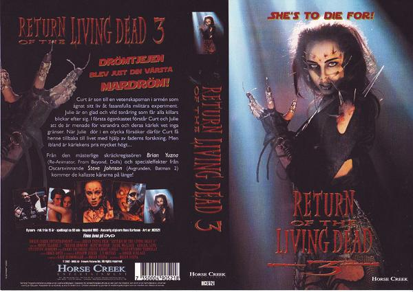 RETURN OF THE LIVING DEAD 3 (VHS)
