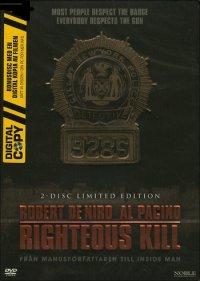 Righteous Kill (beg DVD) steelbox