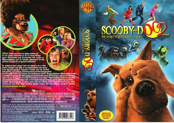 SCOOBY-DOO 2 (VHS)