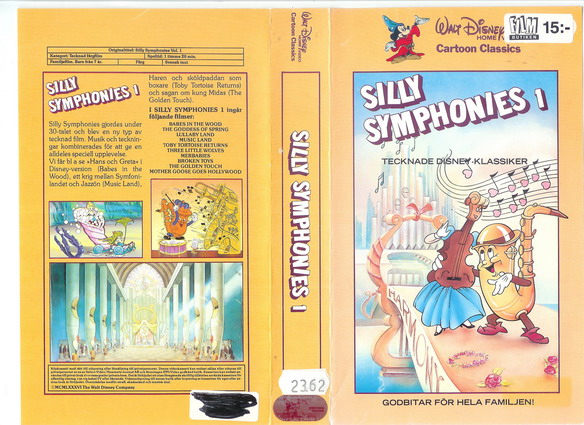 424/73 Silly Symphonies 1 (VHS)
