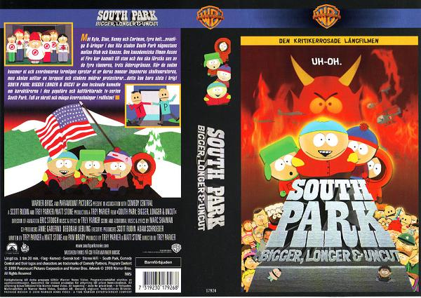 SOUTH PARK BIGGER, LONGER & UNCUT (VHS)
