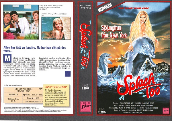 SPLASH TOO (VHS)