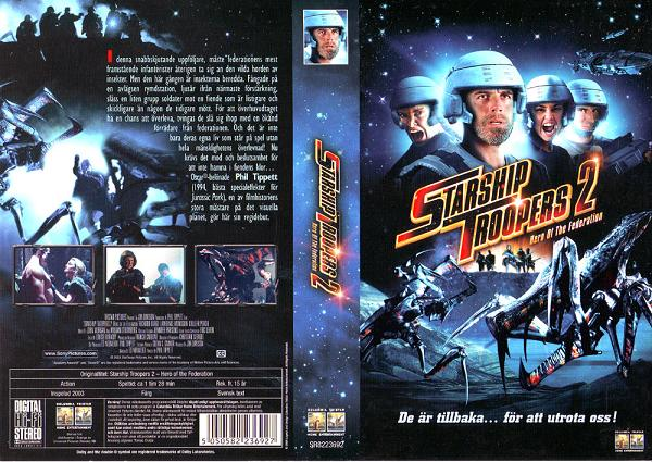 STARSHIP TROOPERS 2 (VHS)