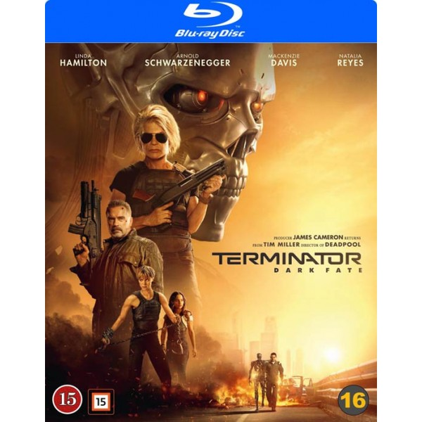 Terminator: Dark Fate (beg blu-ray)