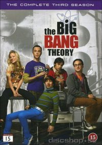 Big bang theory - Säsong 3 (beg dvd)