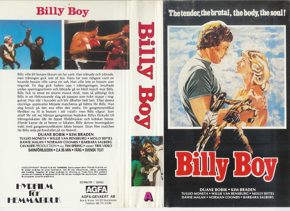 A - BILLY BOY (VHS)