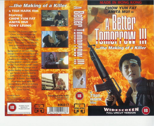 A BETTER TOMORROW 3 (VHS)