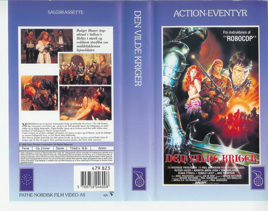 FLESH AND BLOOD (VHS) DK