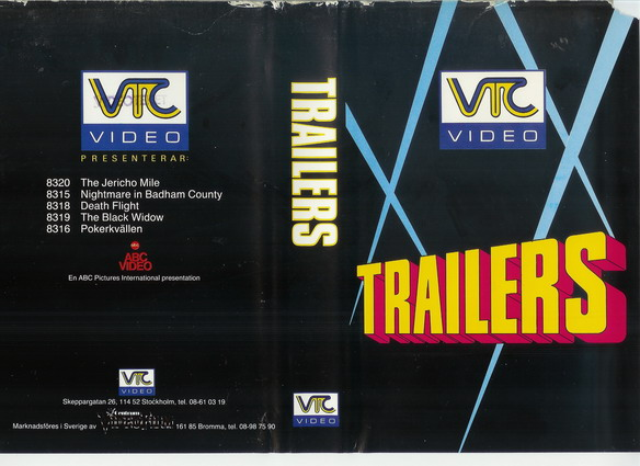TRAILERS (VHS)