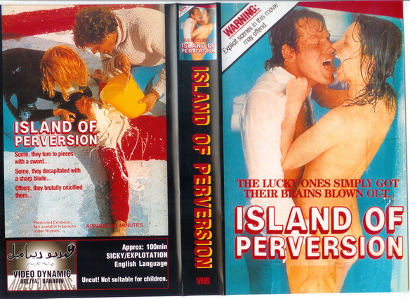 ISLAND OF PERVERSION (vhs) bah
