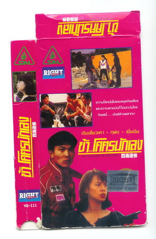 IN THE LINE OF FIGHTING (VHS)