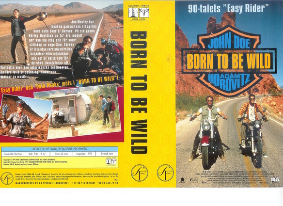 BORN TO BE WILD (VHS)