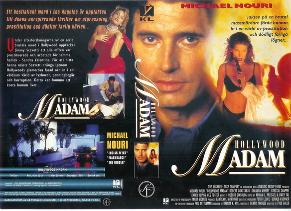 HOLLYWOOD MADAM (vhs)