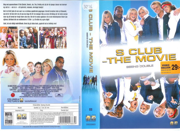 S CLUB - THE MOVIE (VHS)