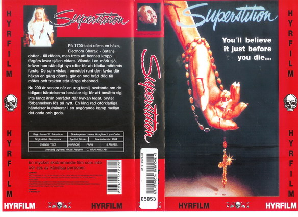 SUPERSTITION (VHS)