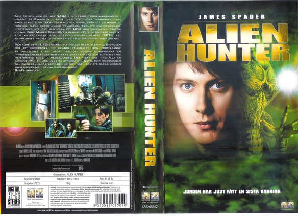 ALIEN HUNTER (VHS)