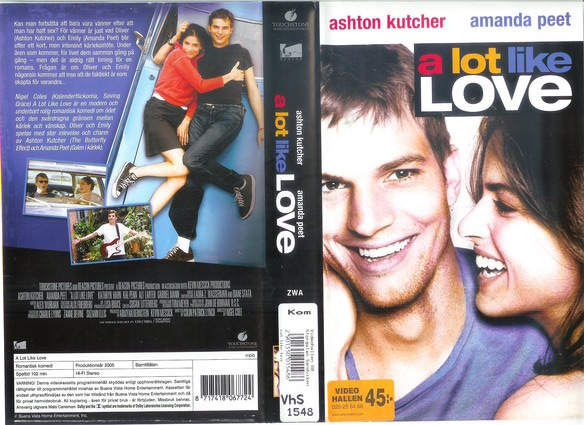 2002873 A LOT LIKE LOVE (VHS)