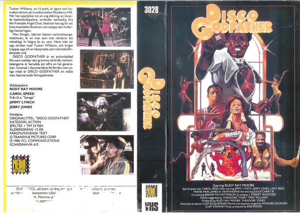 3028 DISCO GODFATHER  (VHS)