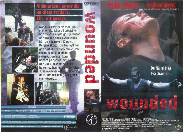 WOUNDED (VHS)