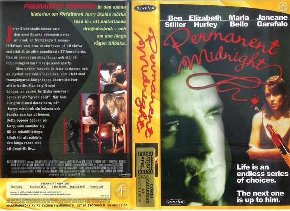 PERMANENT MIDNIGHT (VHS)