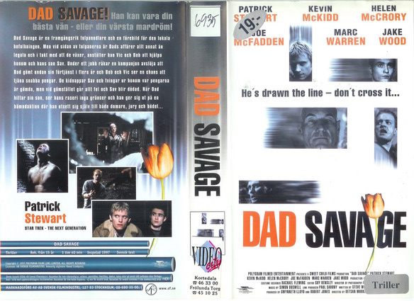DAD SAVAGE (VHS)