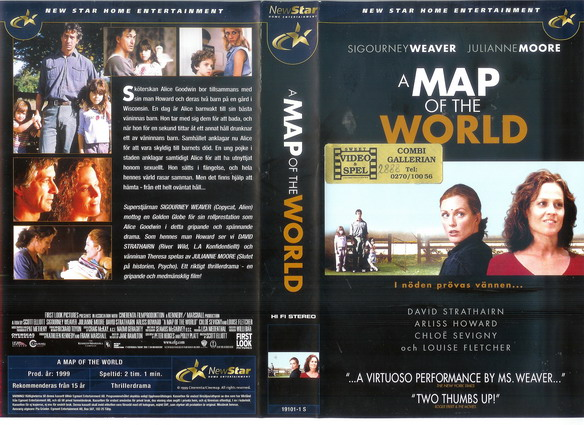 A MAP OF THE WORLD (VHS)