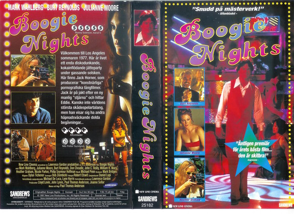 BOOGIE NIGHTS (VHS)