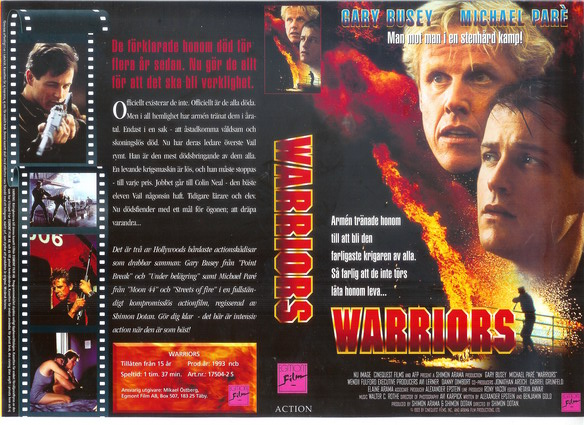 WARRIORS - 1993 (VHS)