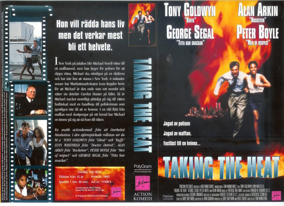 TAKING THE HEAT (vhs)