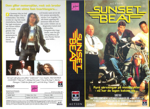 SUNSET BEAT (VHS)