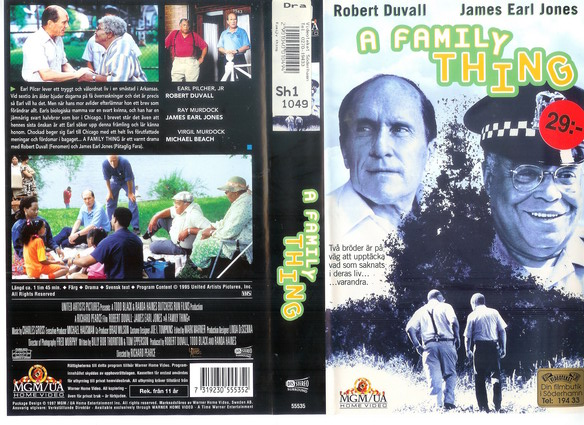A FAMILY THING (VHS)