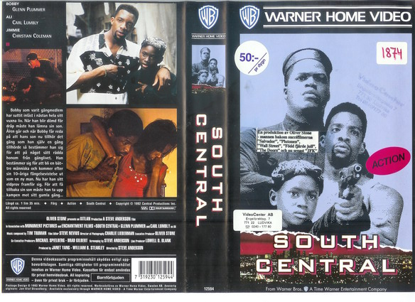 SOUTH CENTRAL (VHS)