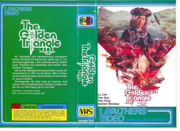 13-GOLDEN TRIANGLE (VHS)
