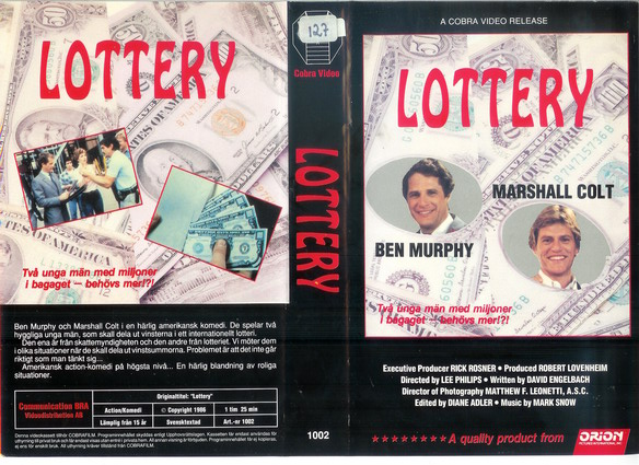 1002 LOTTERY (VHS)