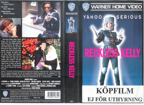 RECKLESS KELLY (VHS)