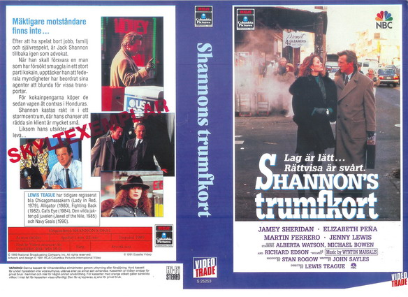 SHANNON\'S TRUMFKORT (VHS)