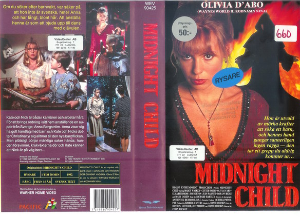 MIDNIGHT CHILD (vhs)
