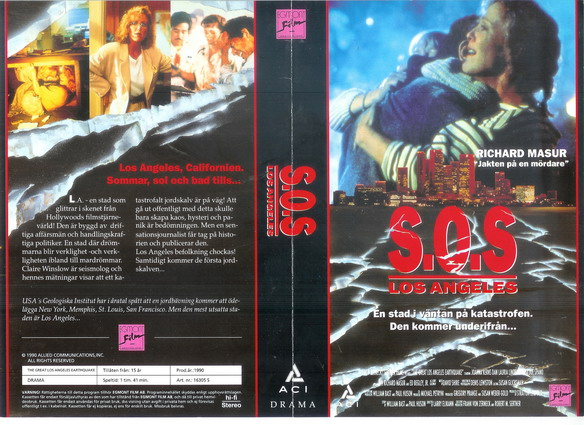 S.O.S LOS ANGELES (vhs)