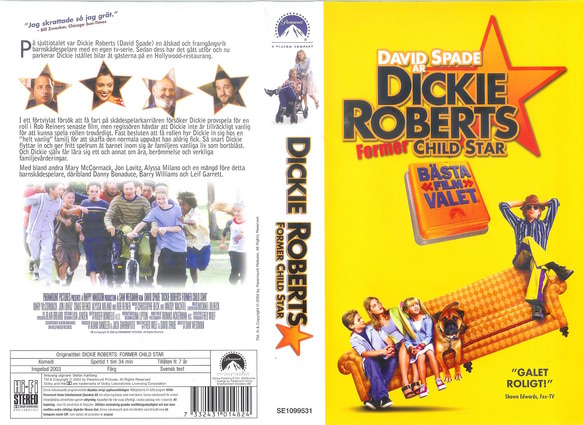 DICKIE ROBERTS FORMER CHILD STAR