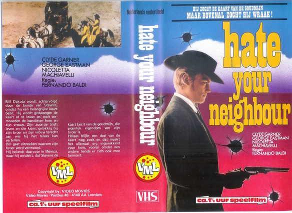 HATE YOUR NEIGHBOUR - NL (VHS)