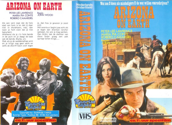ARIZONA ON EARTH (VHS)NL