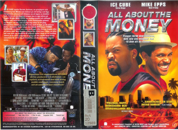 ALL ABOUT THE MONEY (VHS)
